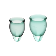 Satisfyer Feel Confident Menstrual Cup – גביעונית מחזור מבית סטיספייר