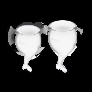 Satisfyer Feel Secure Menstrual Cup – גביעונית מחזור מבית סטיספייר