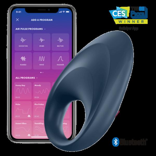 Satisfyer Mighty One – טבעת רטט עם אפליקציה